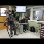 Dancing Robot has two legs and Fibreglass Springs