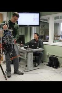 Dancing Monopod Robot uses Fibreglass Springs