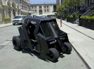 batmobile golf buggy