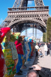 United Buddy Bears in Paris