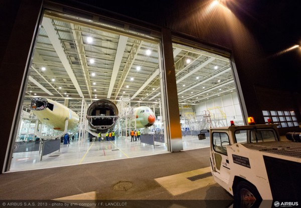 Third Airbus A350 XWB Takes Shape