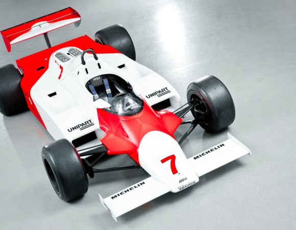 The McLaren MP4 / 1 - The car that Started the Composites Revolution in F1