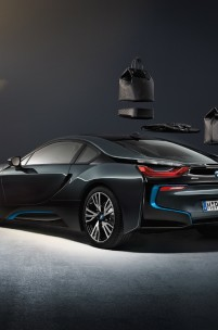 Louis Vuitton Make Carbon Fibre Luggage for BMW i8