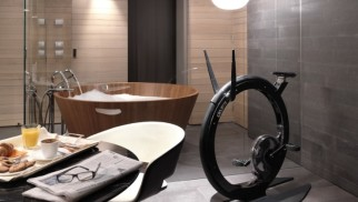 Ciclotte Carbon Fibre Exercise Bike