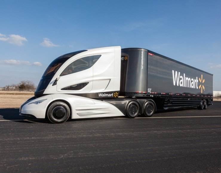 Walmart Introduce Fuel Efficient Future Truck