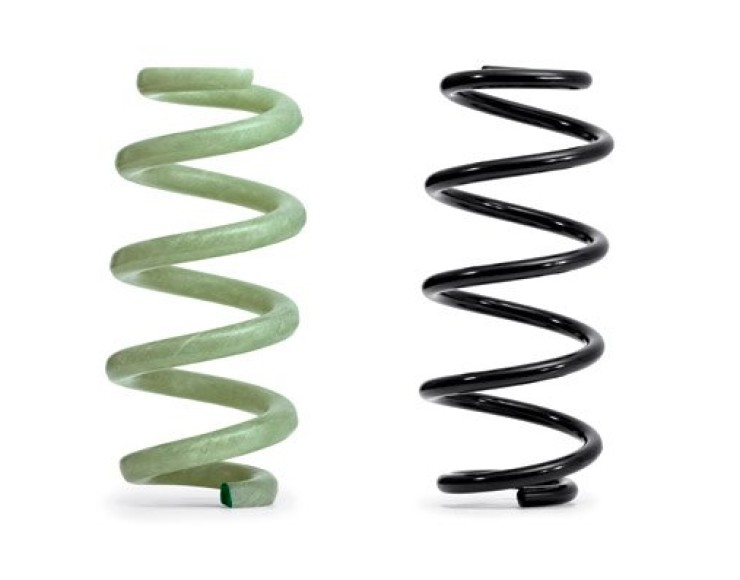 Audi Introduces New Lightweight Composite Springs