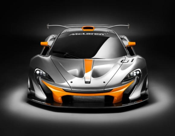 McLaren Unveil P1 GTR Design Concept