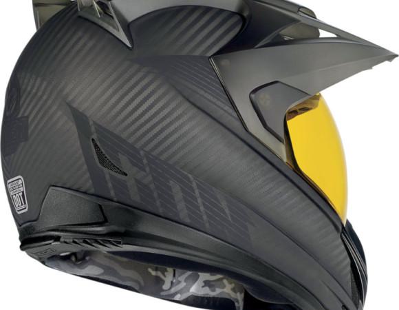 Variant Ghost Carbon Fibre Motorbike Helmet