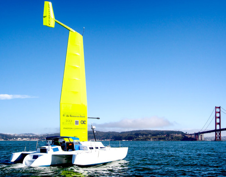 New Composite Sail Could One Day Be Used to Power Ferries