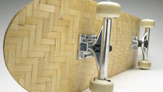 Woven Bamboo Composite Skateboards
