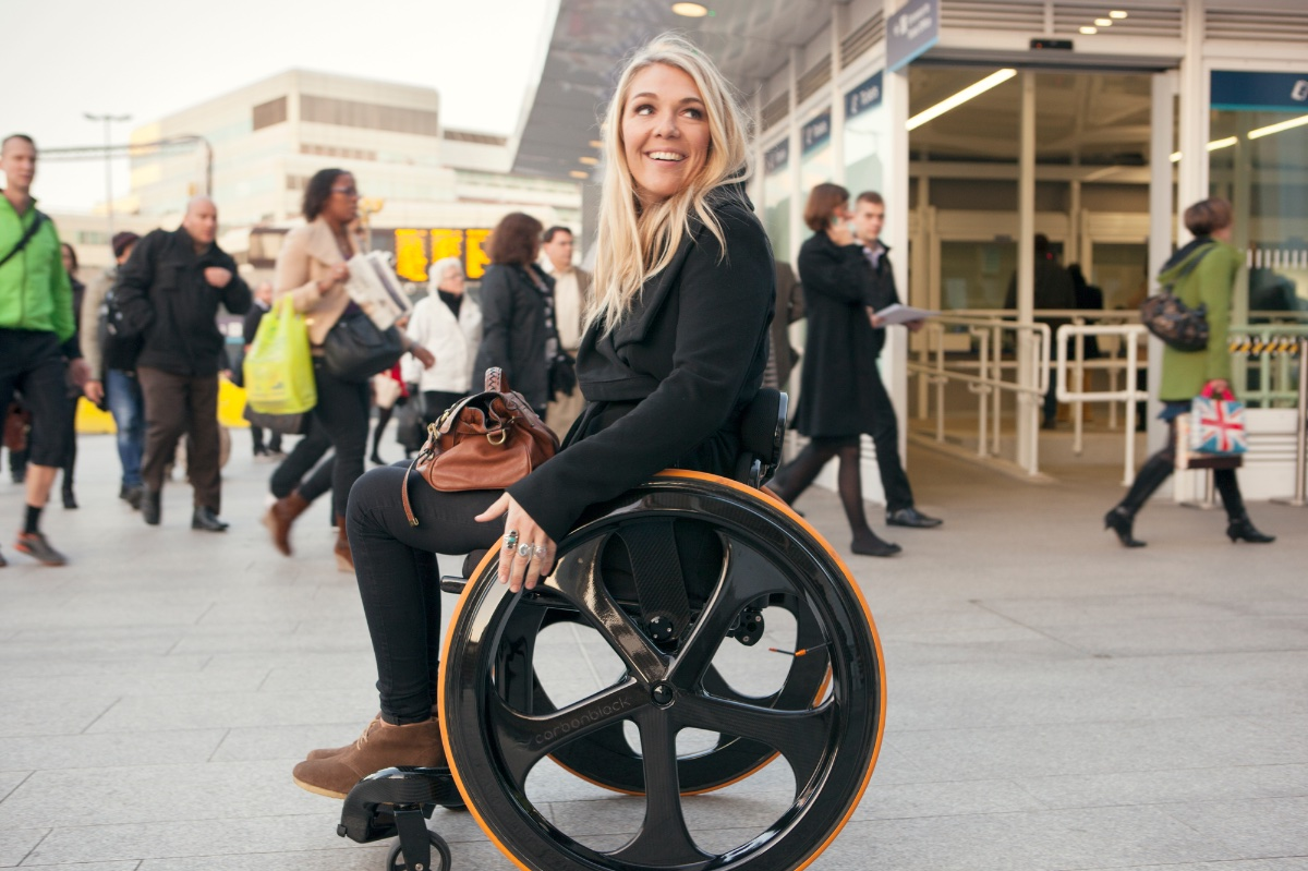 Carbon Fibre Wheelchair By Andrew Slorance