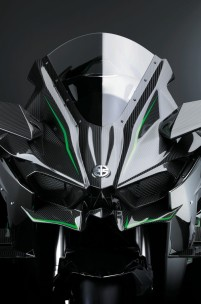 The Kawasaki Ninja H2R Is a 300 HP Carbon Fibre Rocket
