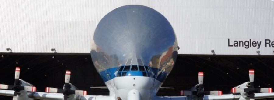 NASA Super Guppy Delivers Composite Structure for Testing