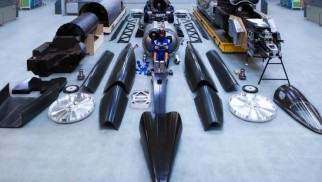 The Bloodhound Supersonic Kit Car