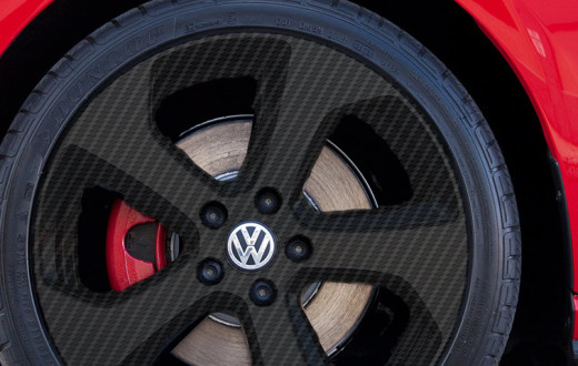 volkswagon carbon fibre wheels