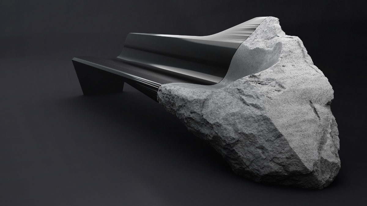 Peugeot Design Labs Create Seat From Volcanic Rock