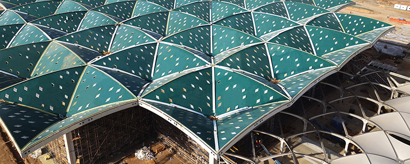 Haramain Railway Station roof