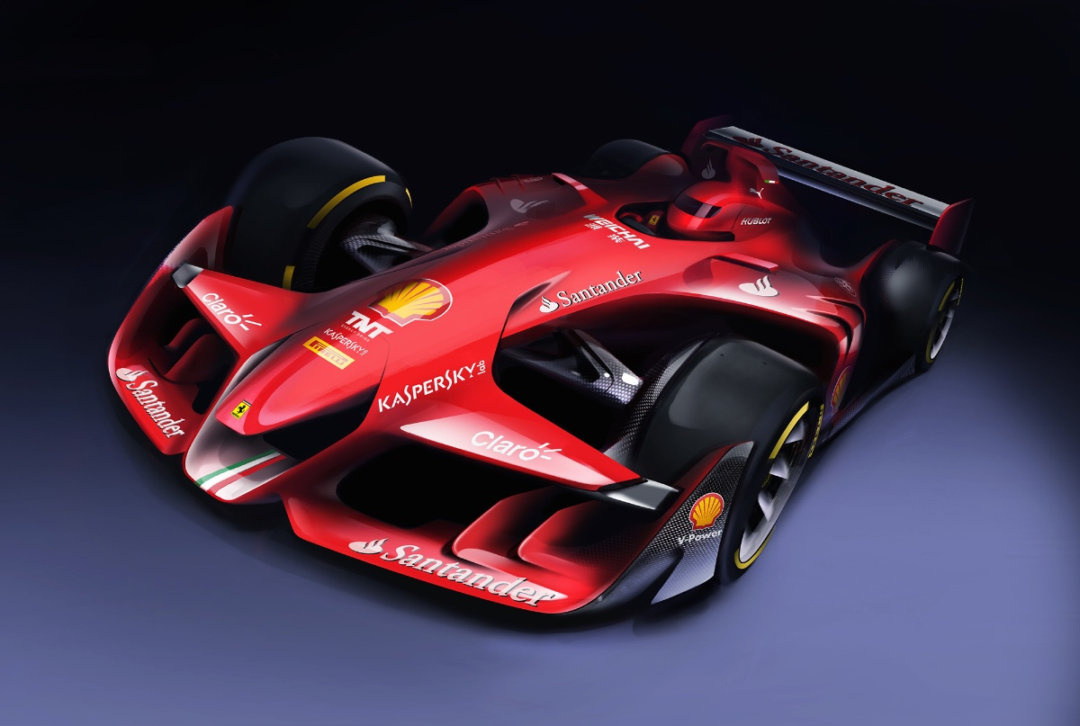 Ferrari Wants Your Feedback on New F1 Concept